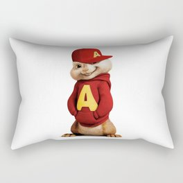 Alvin the awesomeness chipmunk Rectangular Pillow