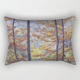 Autumn Dreams. Into The Woods. Retro Rectangular Pillow