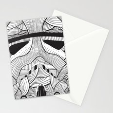 Stormtrooper: Another Drill (grey) Stationery Cards