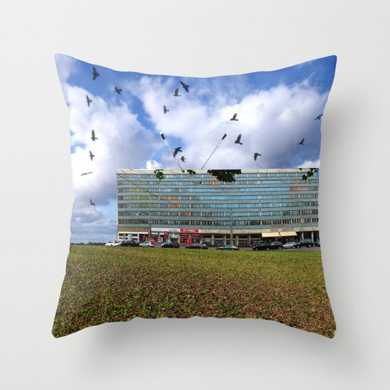 Surreal Living 4 Throw Pillow