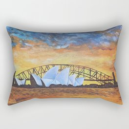 Opera House, Sydney Rectangular Pillow
