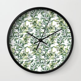 Snowberry Wall Clock