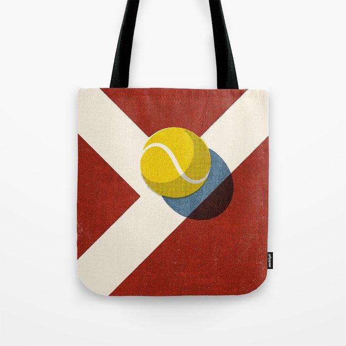 BALLS / Tennis (Clay Court) Tote Bag