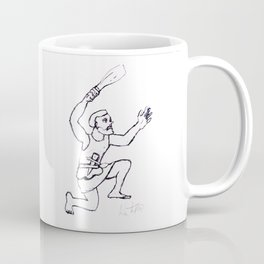 STONE-AGE MAN        by Kay Lipton Coffee Mug