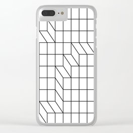 Cityscape Clear iPhone Case