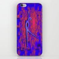 dancer iPhone & iPod Skins featuring Dancer by Christine baessler