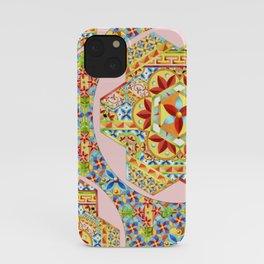 Gypsy Boho Chic Hexagons iPhone Case