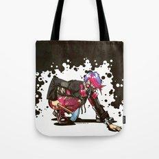 Dystopian Dumpster Princess Tote Bag