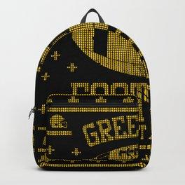 Green Bay Football Fan Gift Present Idea Backpack
