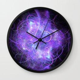 Galactic Confetti Wall Clock