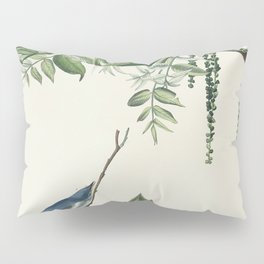 Blue-Grey Fly-catcher from Birds of America (1827) by John James Audubon etched by William Home Liza Pillow Sham