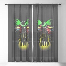 Tatoo Sheer Curtain