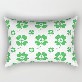 lucky flower Rectangular Pillow