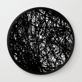 Branches 1 Wall Clock