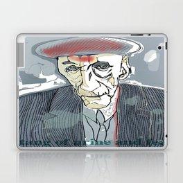 William S. Burroughs Laptop & iPad Skin
