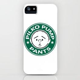 Pilko Pump Pants - Karl Pilkington Starbucks iPhone Case