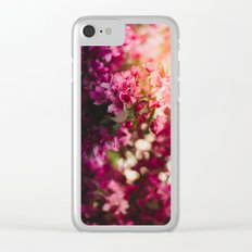 Beauty of Spring II Clear iPhone Case