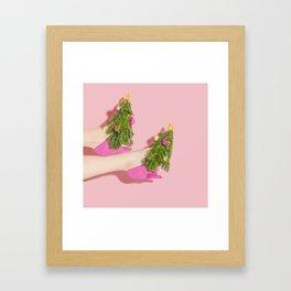 Deck the Heels Framed Art Print