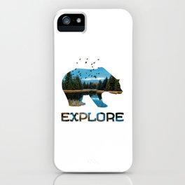 Hey Bear Explore - KPAK3H iPhone Case