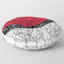 ONE BALL TO CATCH THEM ALL Floor Pillow