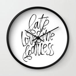 Fate - Version 1 Wall Clock