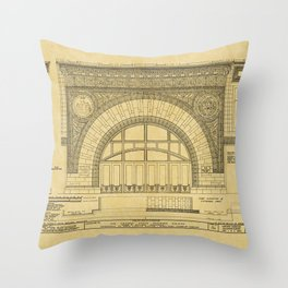 Chicago Stock Exchange Throw Pillow