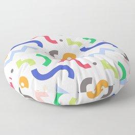 Decorative Curly  Floor Pillow