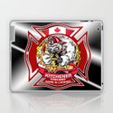 Kitchener East Side Hose & Ladder RED CREST by choolee