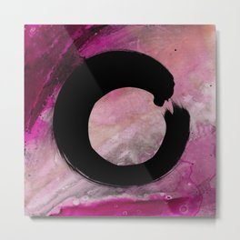 Enso Abstract No. 8E by Kathy Morton Stanion Metal Print