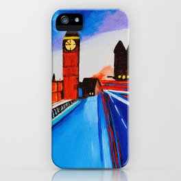 London At Night iPhone Case