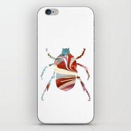 Painted Beetles iPhone Skin