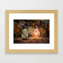 Quickly shot Framed Art Print