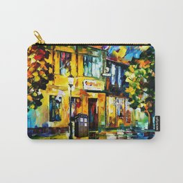 Tardis Art Tree Starry Night Carry-All Pouch