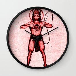 Hindu - Hanuman 3 Wall Clock