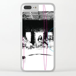 The Last Supper Clear iPhone Case
