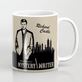 Richard Castle, Mystery Writer Coffee Mug