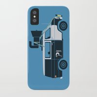 blues brothers iPhone & iPod Cases featuring The Blues Brothers' Van by Brandon Ortwein
