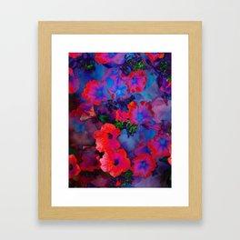 Ruby Red Vine Framed Art Print