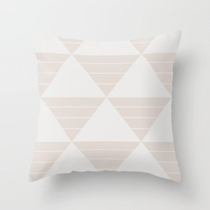 tri 2 Throw Pillow