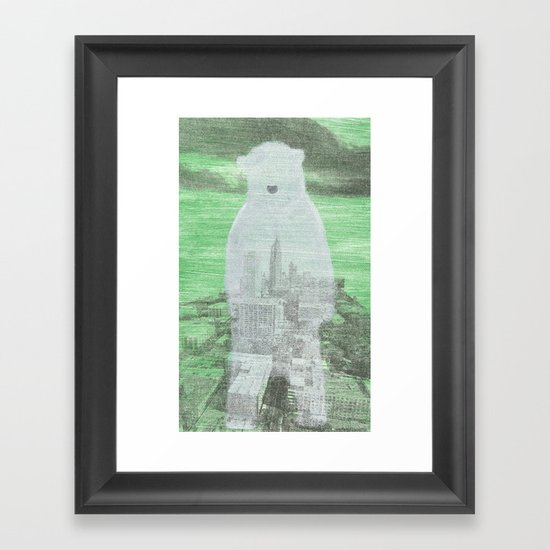 Chilly City Framed Art Print