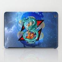 dbz iPad Cases featuring DBZ - Goku Super Saiyan God by Mr. Stonebanks