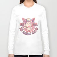 sylveon Long Sleeve T-shirts featuring All Hail Sylveon by Solis