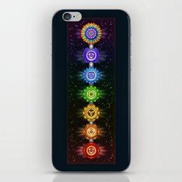 "The Seven Chakras - Series ""Open Chakra"" II iPhone Skin"