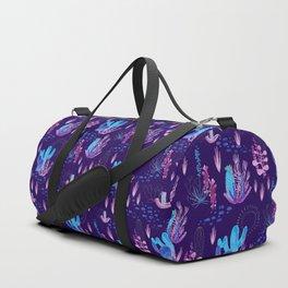 Neon Cacti Duffle Bag