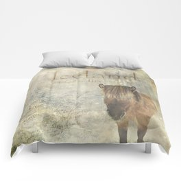 Iceland, forged by fire and ice Comforters