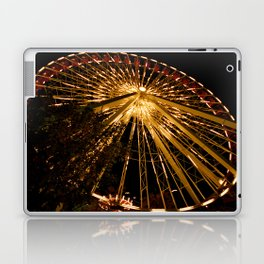 Navy Pier Ferris Wheel Laptop & iPad Skin