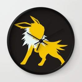 Jolteon Wall Clock