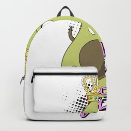 Avocado Queen Vegetarian Tropical Fruit Vegan Backpack