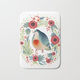 Fruit Dove I Bath Mat