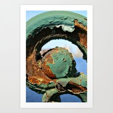 Rust on the Longfellow Art Print